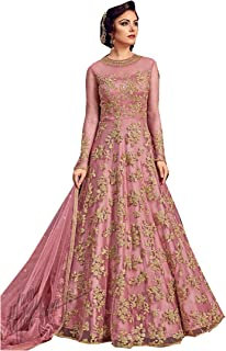 Indian/Pakistani Bollywood Party Wear Long Anarkali Gown for Womens Razzi violate N