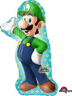 Mario Brothers Luigi Super Shape Foil Balloon