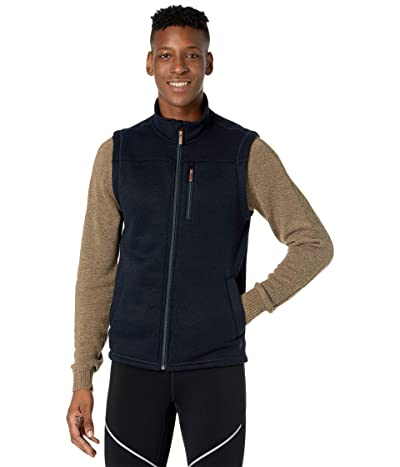 Smartwool Hudson Trail Fleece Vest (Navy) Men