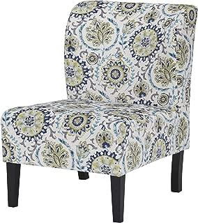 Signature Design by Ashley Accent Chair, Triptis Suzani Blue/Green