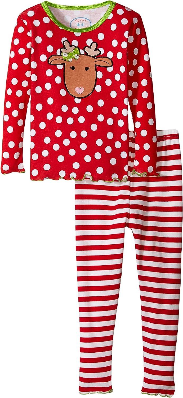 Sara's Prints Girls' Snug Fit Pajamas