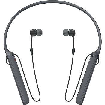 Amazon Com Sony C400 Wireless Behind Neck In Ear Headphone Black Wic400 B Electronics