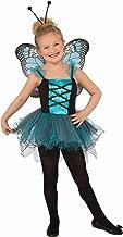 Forum Novelties Kids Fluttery Blue Butterfly Costume, Blue, Small