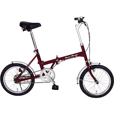 ミムゴ(MIMUGO) 16インチ折畳自転車 FDB16 MG-CM16 クラシックレッド