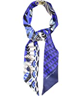 Salvatore Ferragamo - Mini Twill Malawi Silk Scarf