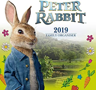 Peter Rabbit Family Organiser Official 2019 Calendar - Square Wall Calendar Format