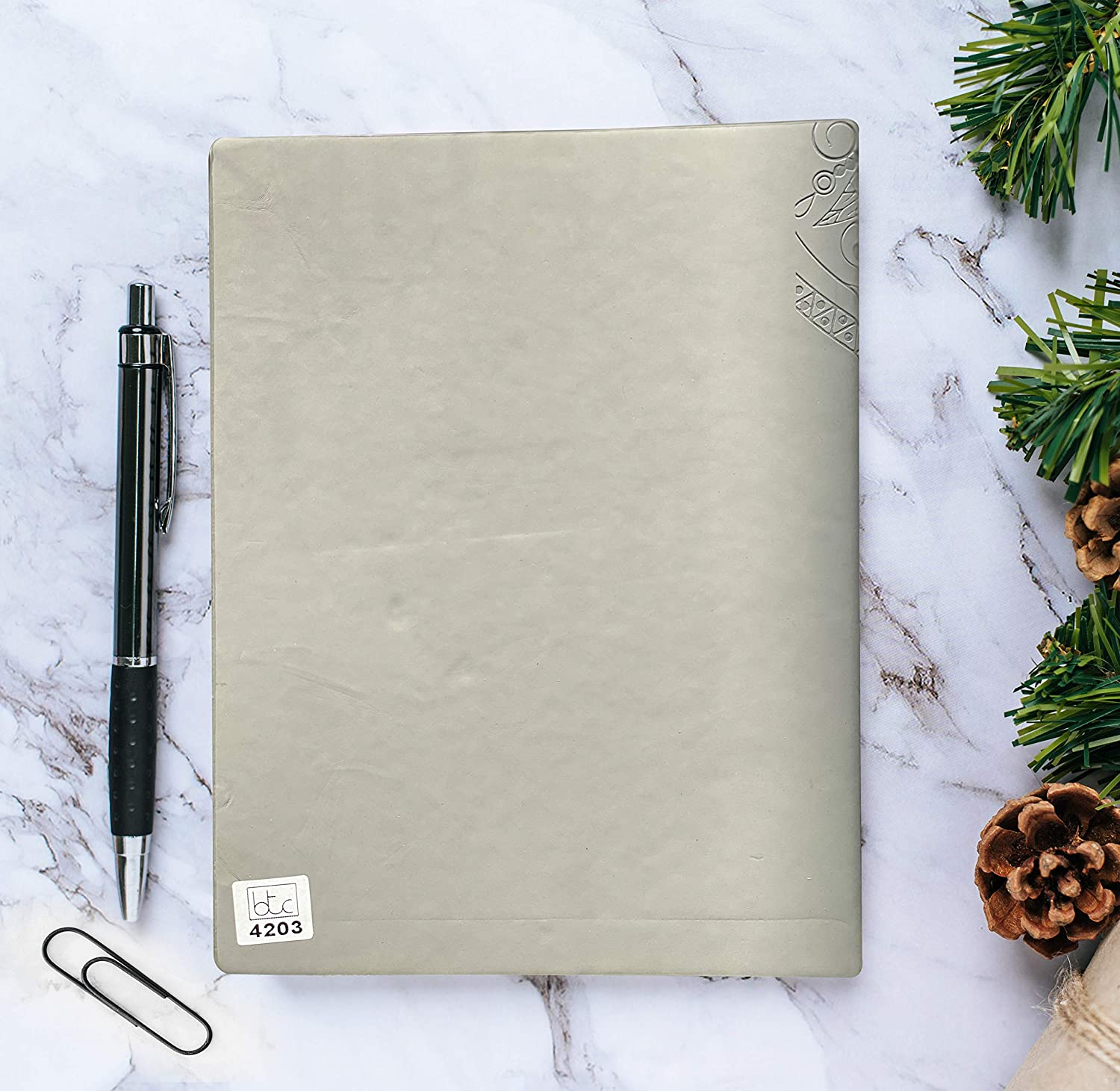 Grey Standard Business Diary 2021 Superior Quality and Elegant Design for Professional /& Personal Use