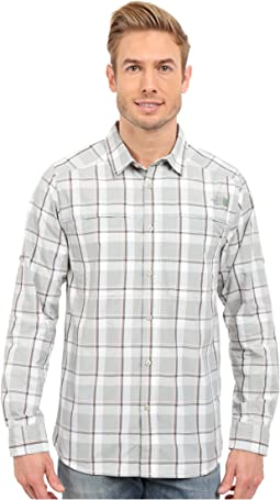 Long Sleeve Traverse Plaid Shirt