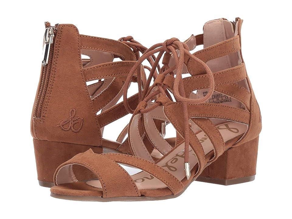 Sam Edelman Kids Evelyn Lace-Up (Little Kid/Big Kid) (Saddle) Girls Shoes