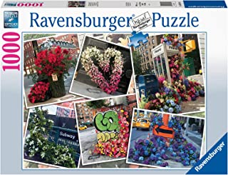 Ravensburger New York City Flower Flash 1000 Piece Jigsaw Puzzles for Adults & Kids Age 12 Years Up - America