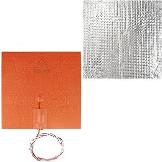 figatia Impressora 3D Aquecedor de silicone aquecedor de 450 W 220 V e algodão com isolamento térmico, acessórios profissi...