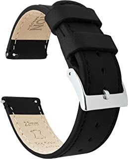 Barton Quick Release - Top Grain Leather Watch Band Strap...