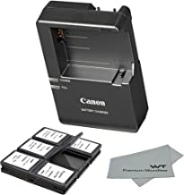 Canon Replacement LC-E8 Quick Charger for Canon LP-E8 Li-ion Battery Compatible with Canon EOS 550D, 600D, 650D, 700D, EOS...