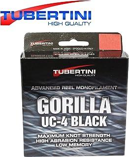 Tubertini UC 4 Gorilla Schnur 350m – Monofile Angelschnur zum Forellenangeln,..