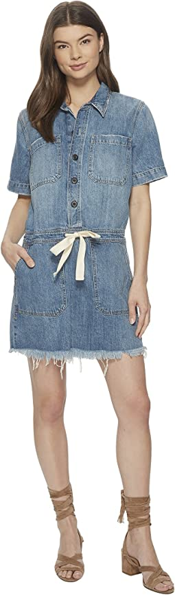 Lucky Brand Drawstring Dress