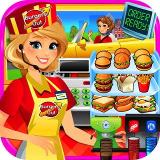 Drive Thru Simulator - Kids Mega City Fast Food Drive Thru, Diners & Burgers FREE