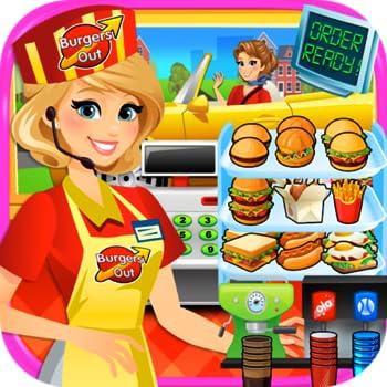 Drive Thru Simulator - Kids Mega City Fast Food Drive Thru Diners & Burgers FREE