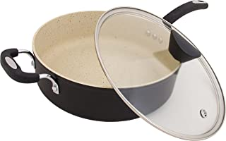 Ozeri ZP10-5L The Stone Earth All-In-One Sauce Pan, Black