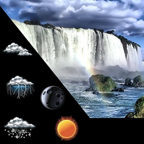 Wasserfall Wetter Uhr