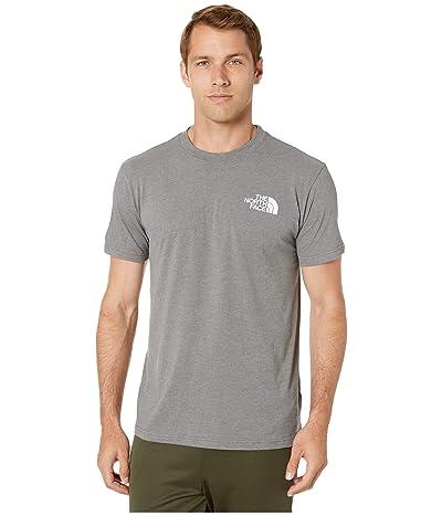 The North Face Short Sleeve Red Box T-Shirt (TNF Medium Grey Heather/Asphalt Grey) Men