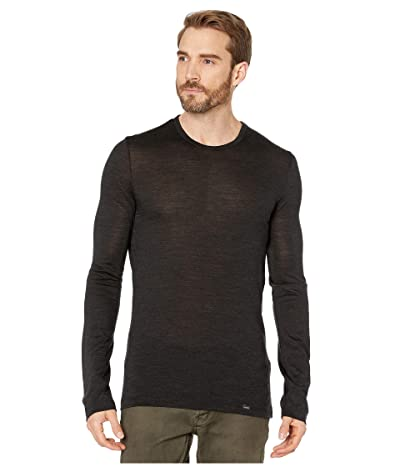 Hanro Light Merino Wool Long Sleeve Shirt (Phantom) Men