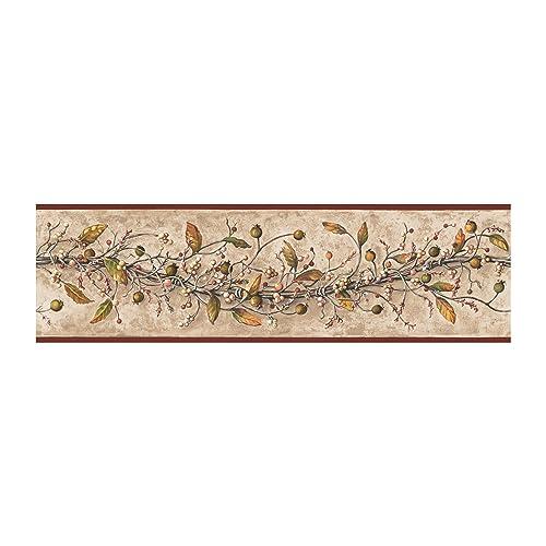 Awe Inspiring Country Wallpaper Borders Amazon Com Interior Design Ideas Clesiryabchikinfo