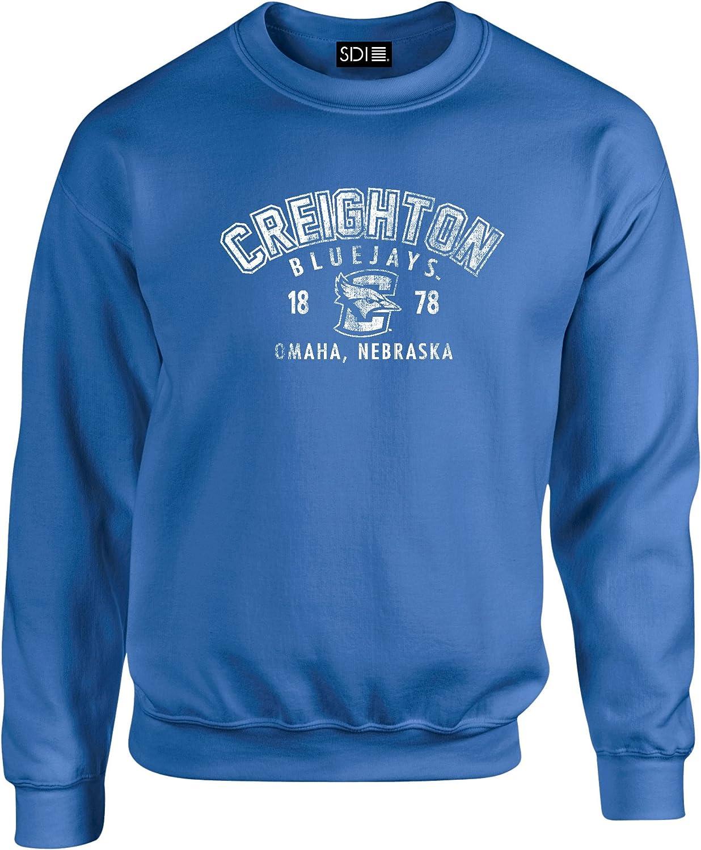 1年保証 SDI NCAA Arch 50 超激安特価 Blended Crewneck oz Sweatshirt 8