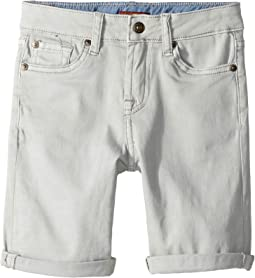 Classic Five-Pocket Stretch Twill Shorts in Greystone (Little Kids/Big Kids)