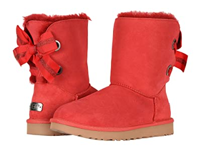UGG Customizable Bailey Bow Short (Ribbon Red) Women