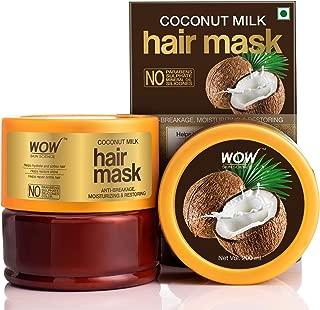 WOW Skin Science Coconut Milk Hair Mask with Coconut Milk, 200mL