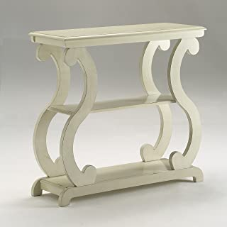 ivory painted console table