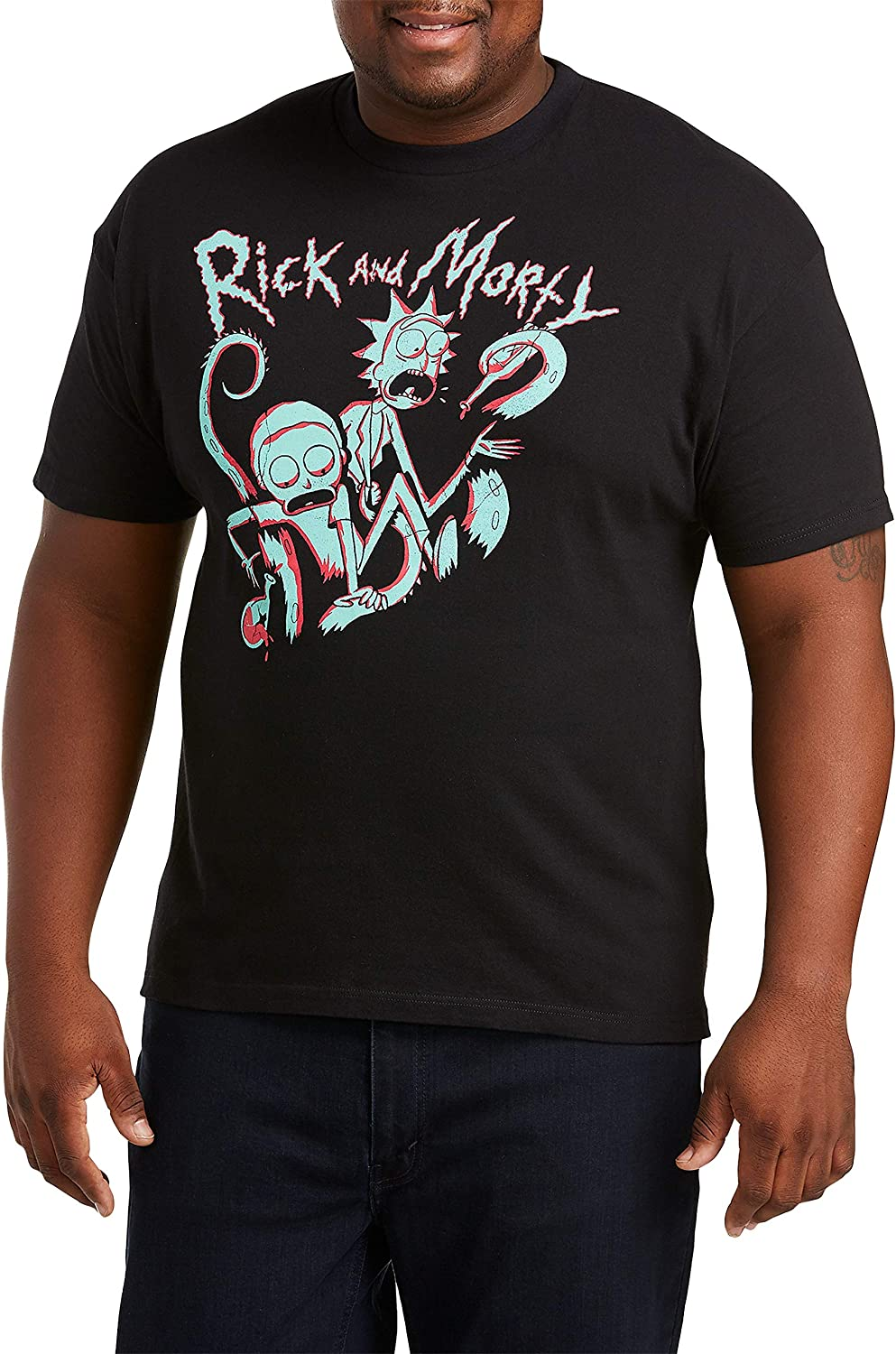 True Challenge the lowest price of Japan Jacksonville Mall Nation by DXL Big and Graphic Morty Cartoon Tall Rick T