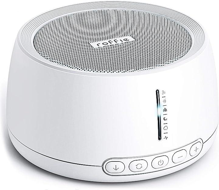 macchina del rumore bianco, roffie white noise machine generatore per sonno articoli per la nanna 30 suoni n500