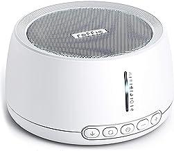 White Noise Machine, Roffie Einschlafhilfe Weißes Rausche Maschine, 30 Natürliche Beruhigender Geräuschen, Timing-Funktion Tragbarer Hochwertiger Schlaftherapie, Geeignet für Zuhause, Büro, Reisen