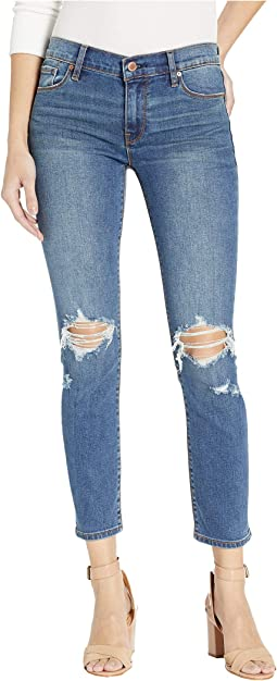 Tally Mid-Rise Skinny Crop in B-Good