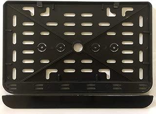Kennzeichen-Unterlage 280x200 mm f/ür Quad//Auto Kunststoff schwarz Kennzeichenverst/ärker Kennzeichenhalterung