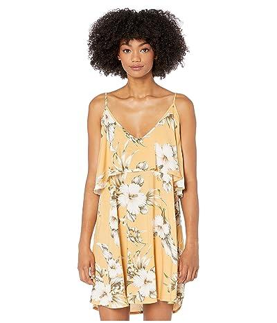 Rip Curl Island Time Dress (Mustard) Women