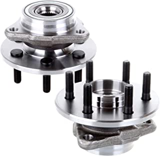 SCITOO Pair of 2 New Front Wheel Hub and Bearing Assembly Fits Dakota for Durango 4x4 4WD 515007 X 2