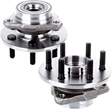 SCITOO Compatible with Pair of 2 New Front Wheel Hub Bearing Assembly Fits Dakota for Durango 4x4 4WD 515007 X 2