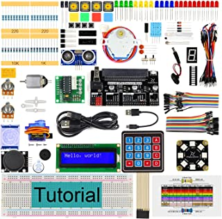 Freenove Ultimate Starter Kit for BBC Micro:bit (Not Contained), 305 Pages Detailed Tutorial, 224 Items, 44 Projects, Bloc...