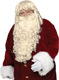 Fun World - Santa Wig And Beard Super Deluxe