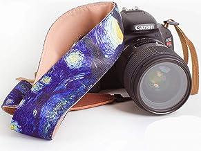 Van Gogh Starry Night Camera Strap - Universal DSLR Camera Strap, Neck Shoulder Camera Belt for Canon, Nikon, Sony, Fujifi...