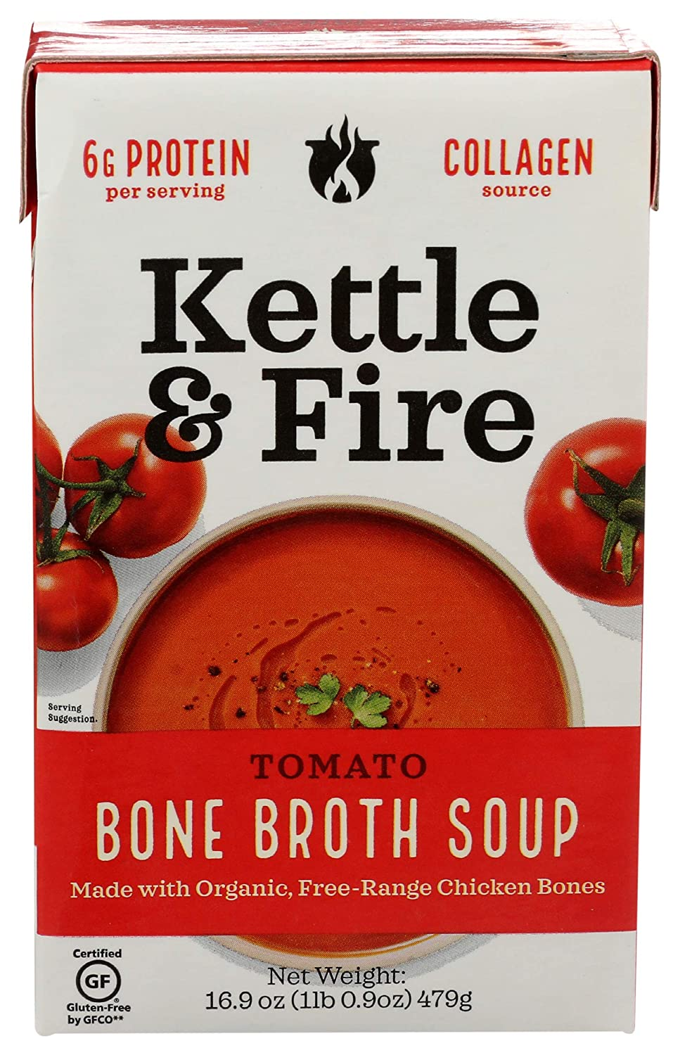 Kettle  Fire Kettle And Fire, Tomato Soup With Chicken Bone Bro