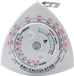"EMI Triangle BMI Calculator and Body Tape Measure - 60"" / 1.5 m ECB-301"