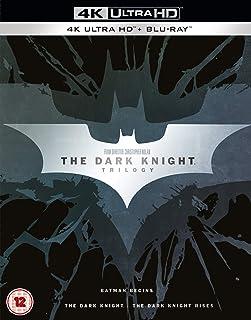 The Dark Knight Trilogy 4K UHD Blu-Ray - Batman Begins / The Dark Knight / The Dark Knight Rises / 4K Ultra HD + BluRay