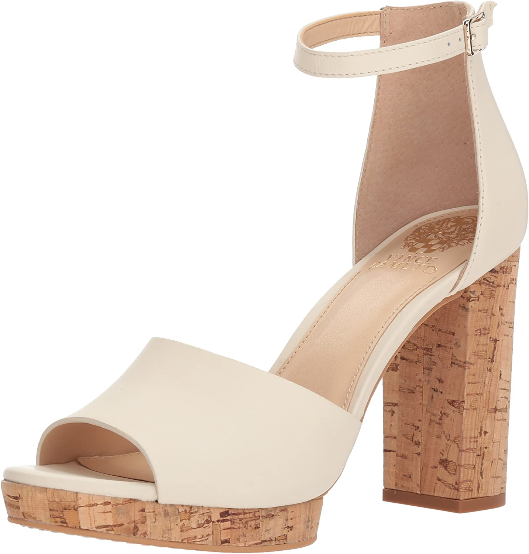 Vince Camuto Womens Ciestie Heeled Sandal
