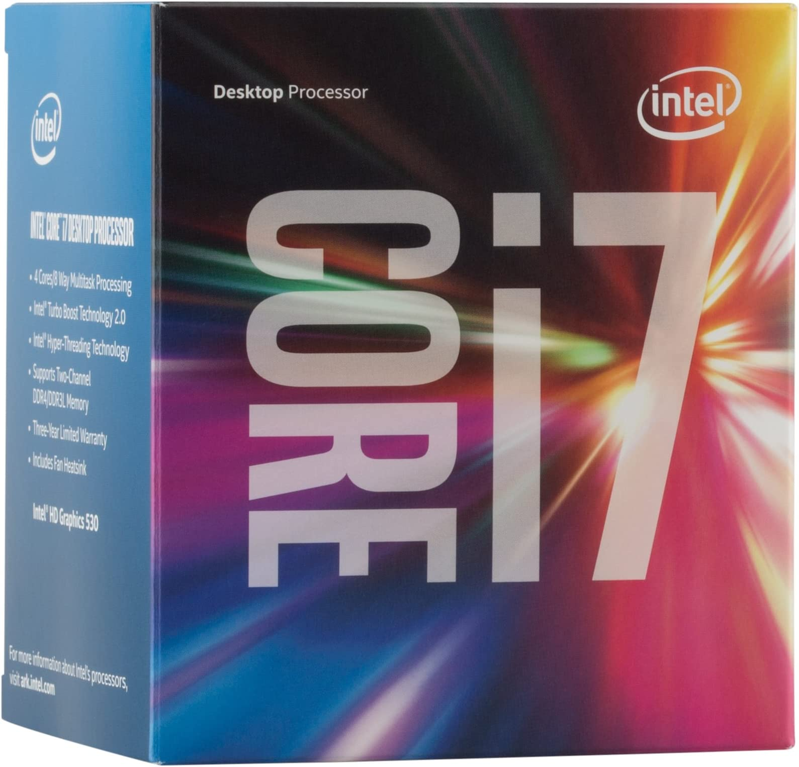 Intel Boxed Core I7-6700 FC-LGA14C 3.40 GHz 8 M Processor Cache 4 LGA 1151 BX80662I76700
