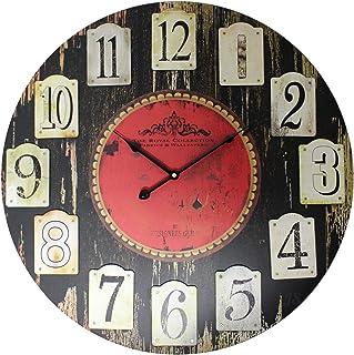 Preis am Stiel 'Precio en el Palo Reloj de Pared Royal | Modern | Negro | | Diseño | Relojes | Grande para salón | Decoración | adornan | Reloj de Cocina