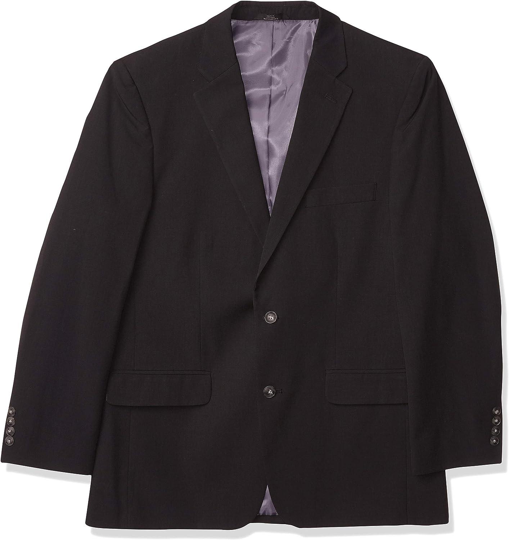 Haggar Men's Tic Weave 2-Button Suit Separate Coat