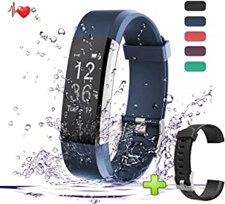 Fitness Watch Activity Tracker Health Monitor With Heart Rate Monitoring, Step Counter, Distance Tracker, Pedometer & Smart Wristband Watch for Running, Cycling, Gym, Techarooz Training Supports Android and IOS